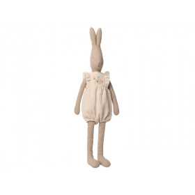 Maileg Rabbit with JUMPSUIT off-white (Size 5)