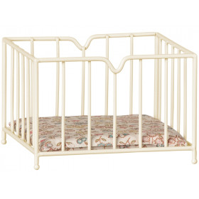 Maileg Metal PLAYPEN for Micro white