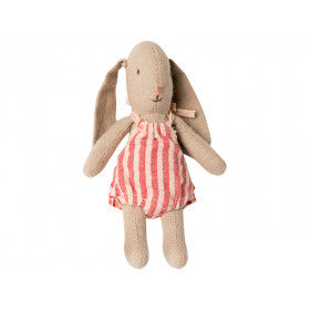 Maileg Micro Bunny with JUMPSUIT Girl