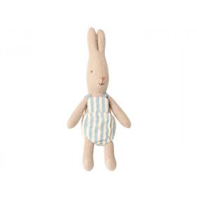 Maileg Micro Rabbit with Jumpsuit Boy