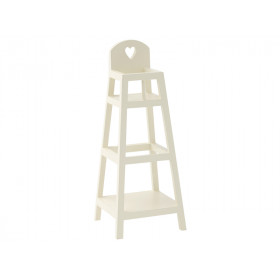 Maileg HIGH CHAIR for MY white