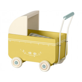 Maileg Pram for MY Yellow