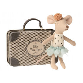 Maileg Mouse in Suitcase LITTLE MISS