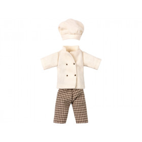 Maileg CHEF CLOTHES for Dad Mouse