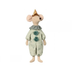 Maileg Maxi Mouse CIRCUS CLOWN