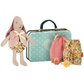 Maileg Micro Bunny with Suitcase