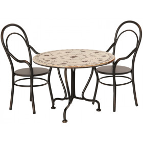 Maileg Dining Table Set for Dollhouse