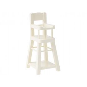 Maileg High Chair MICRO offwhite