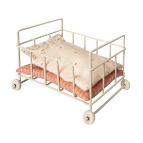 Maileg Metal Baby Cot for Micro