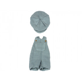 Maileg OVERALL & CAP for Teddy Junior