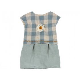 Maileg DRESS for Teddy Mum blue
