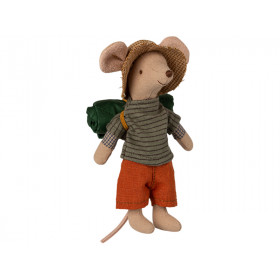 Maileg Mouse Big Brother HIKER