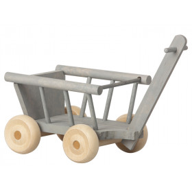 Maileg WAGON for Micro grey