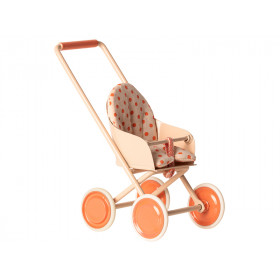 Maileg STROLLER for Micro soft coral