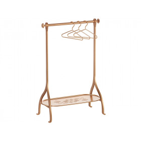 Maileg Metal Clothes Rack GOLD