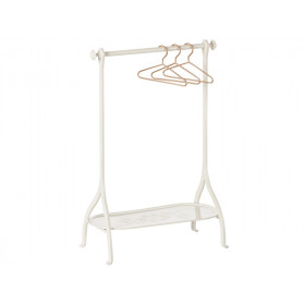 Maileg Metal Clothes Rack OFF WHITE