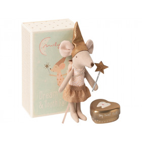 Maileg Tooth Fairy Mouse BIG SISTER in matchbox