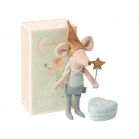 Maileg Tooth Fairy Mouse BIG BROTHER in matchbox