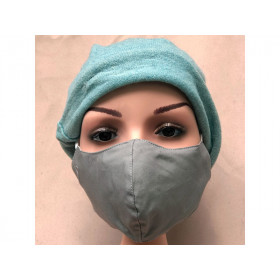 Hickups Fabric Mask ADULTS FEMALE grey