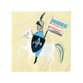 Meri Meri 16 Small Napkins DRAGON KNIGHT