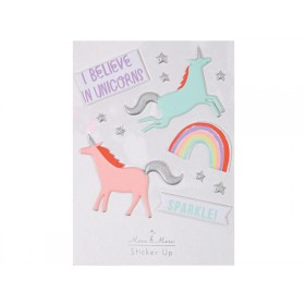 Meri Meri Puffy Stickers UNICORN