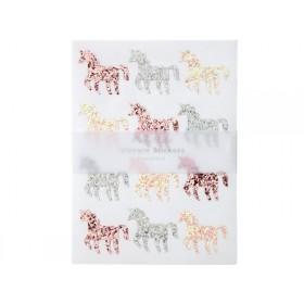 Meri Meri 120 Glitter Stickers GLITTER UNICORN