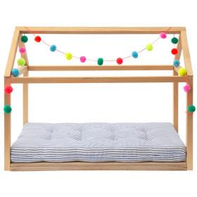 Meri Meri Wooden Doll Bed