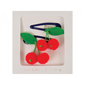 Meri Meri Hair Clips CHERRIES