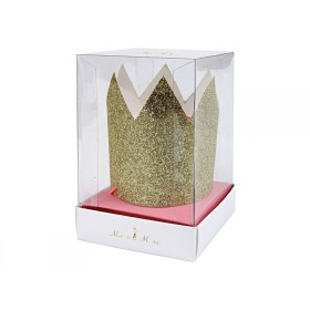 Meri Meri Mini Crowns gold glittered