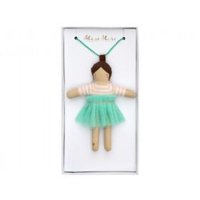Meri Meri Doll Necklace LILA