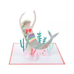 Meri Meri Card MERMAID