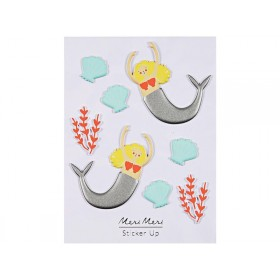 Meri Meri Puffy Stickers MERMAID