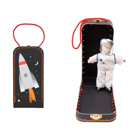 Meri Meri Mini Doll in Suitcase ASTRONAUT