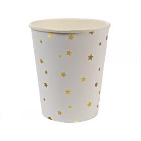 Meri Meri Party Cups Stars gold
