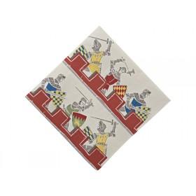 Meri Meri brave knights small napkins