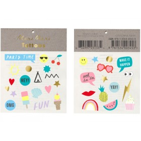Meri Meri Tattoos Assorted Jazzy