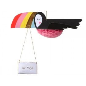 Meri Meri Card FLYING TOUCAN