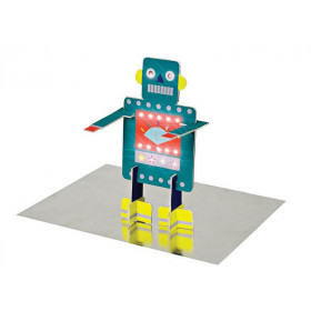 Meri Meri 3D Birthday Card ROBOT