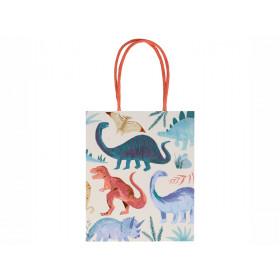 Meri Meri 8 Party Gift Bags DINOSAUR KINGDOM