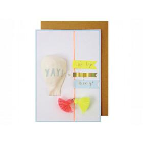 Meri Meri Birthday Card BALLOON