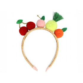 Meri Meri Headband FRUIT POMPOMS