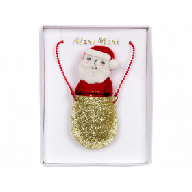 Meri Meri Necklace SANTA in Pocket