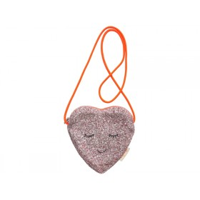 Meri Meri Bag HEART glitter