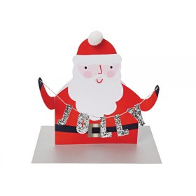 Meri Meri Christmas Card JOLLY SANTA
