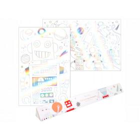 Meri Meri XL Colouring Posters SPACE