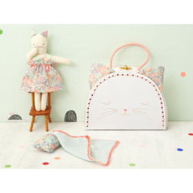 Meri Meri Mini Doll in Suitcase CAT