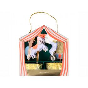 Meri Meri 24 Cupcake Set CIRCUS PARADE