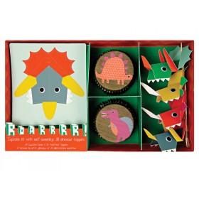 Meri Meri Cupcake Set Dinosaurs