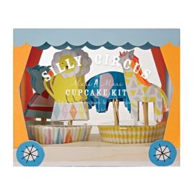 Meri Meri Cupcake Set Silly Circus