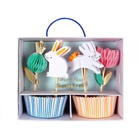 Meri Meri Cupcake Kit BUNNY